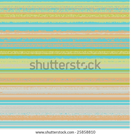 Seamless pattern of turquoise, peach, citrus and grey stripes