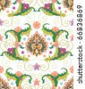 seamless pattern ofPersian ornament - stock vector