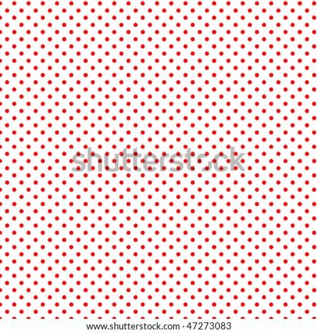Seamless pattern pois - stock vector