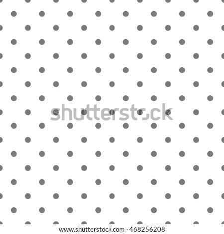 Seamless Pattern Pois Dot Pattern Background Stock Vector (2018 ...