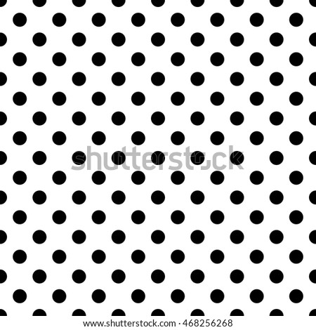 Seamless Pattern Pois Dot Pattern Background Stock Vector 468256268 ...