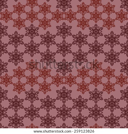 Seamless pattern, ready to use - just drag and drop to your swatch panel. - stock vector