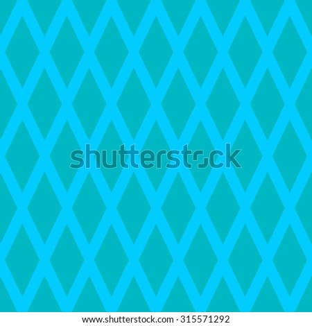 Seamless pattern(s) with rhombus shapes. - stock vector