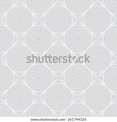 Seamless pattern. Stylish geometric texture with repeated circles and diamonds. Retro. Vintage. Monochrome. Backdrop. Web. Vector illustration - stock vector