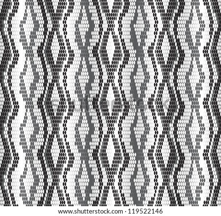 Seamless pattern. Stylized snake skin texture. 2013 New Year of the Snake - stock vector