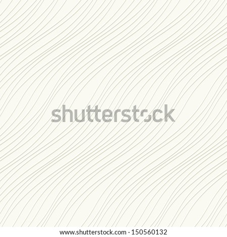 Seamless pattern. Subtle abstract grid texture. Wavy background - stock vector