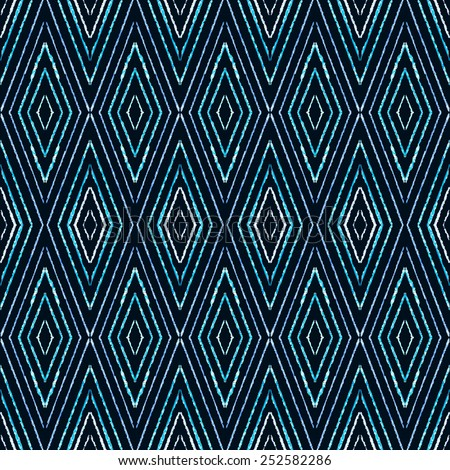 Seamless pattern tweed herringbone - stock vector