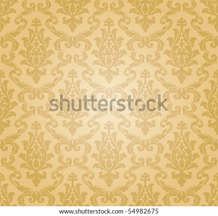 seamless pattern, vector - stock vector