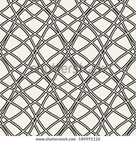 Seamless pattern. Vector abstract background. Diagonal grid structure