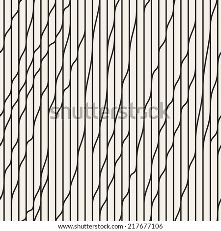 Seamless pattern. Vector abstract background. Stylish rippled structure