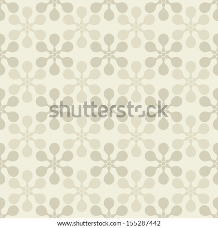 Seamless pattern. Vector pastel texture. Geometric background - stock vector
