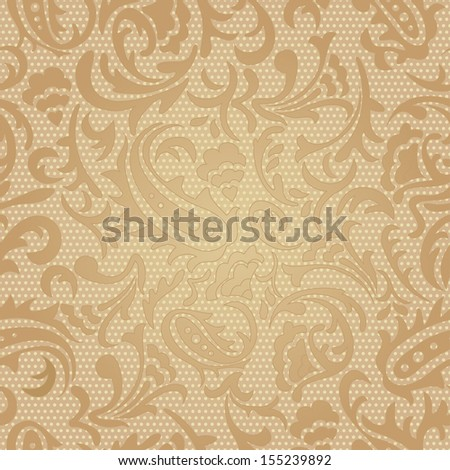 Seamless pattern . Vintage template background in luxury style.Vector illustration
