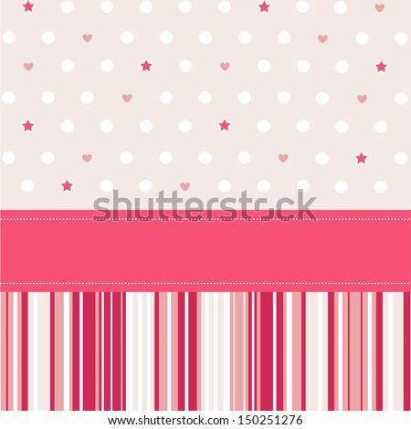 Seamless pattern, wallpaper - stock vector