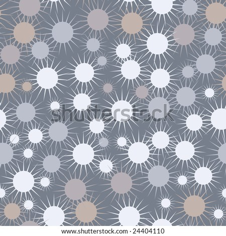 Seamless pattern with abstract shapes - stock vector