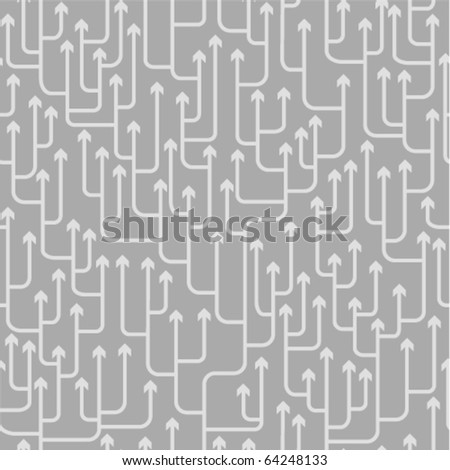 seamless pattern with arrows ornament