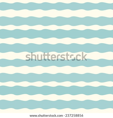 Seamless pattern with blue lines