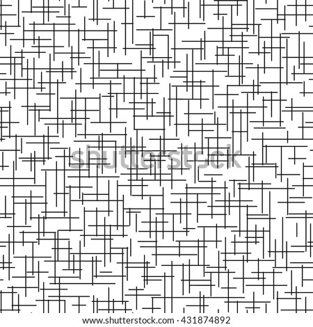 Seamless pattern with cross lines - stock vector