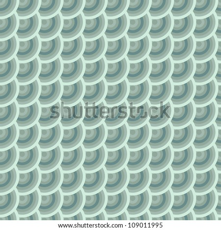 "Seamless pattern with ""fish scales"" texture. Vector illustration."