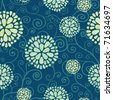 seamless pattern with floral elements - stock vector