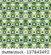 Seamless pattern with flowers. - stock vector