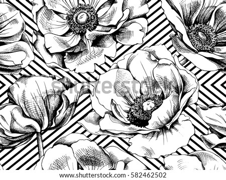 small geometric print wallpaper