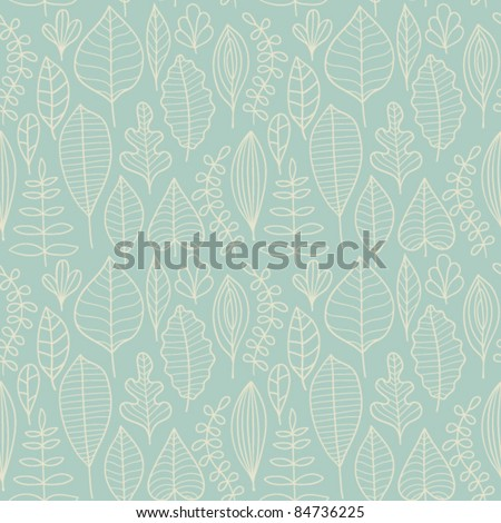 Seamless pattern with leaf,autumn leaf background. Seamless pattern can be used for wallpaper, pattern fills, web page background, surface textures.