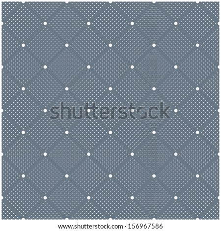 Seamless pattern with polka dot. Stylish vector texture - stock vector