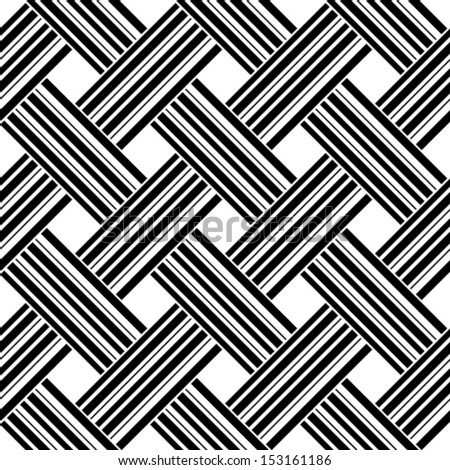 seamless pattern with stripes, vector illustration - stock vector