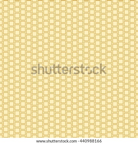 Seamless pattern with symmetric geometric ornament. Abstract repeated rhombuses and squares background. Mosaic wallpaper. Vector illustration