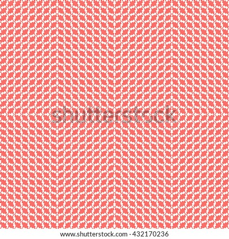Seamless pattern with symmetric geometric ornament. Red curve abstract background. Ornament picture wallpaper. Vector illustration - stock vector