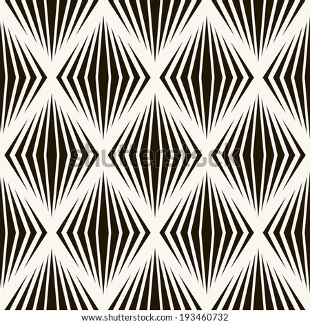 Seamless pattern with zigzag stripes. Corrugated texture. Pinstripe print