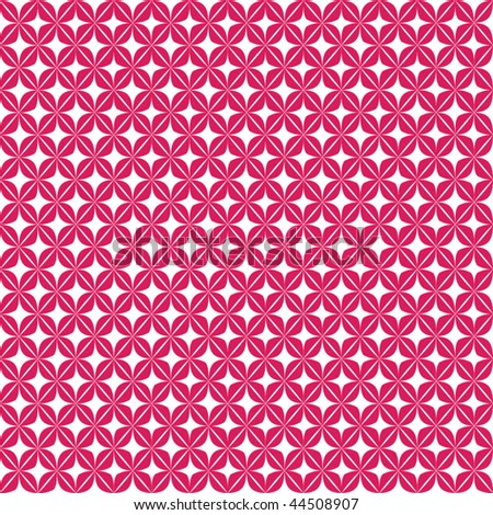 Seamless patterned background - access swatch to fill in your shapes - stock vector