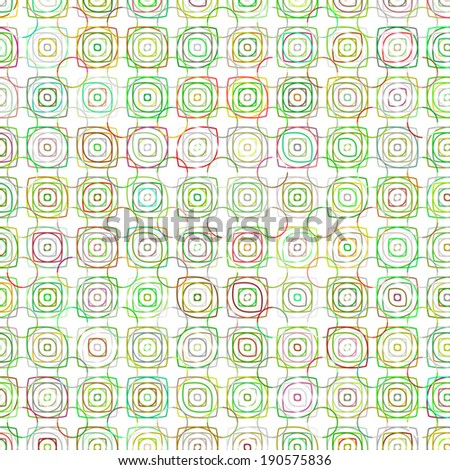 Seamless patterns (tiling). Abstract geometric ornament. Vector  - stock vector