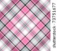 Seamless pink-gray-white cross gentle pattern (vector EPS 10) - stock photo