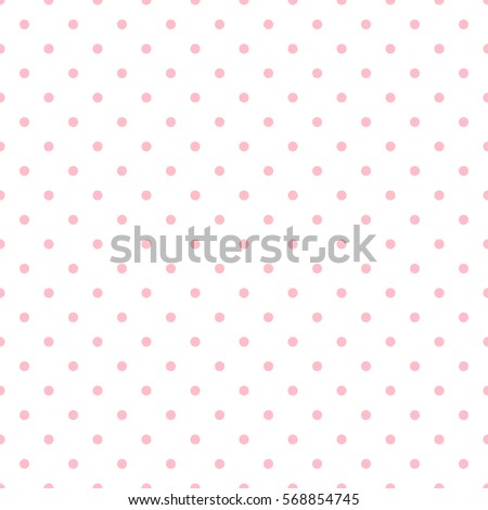 Seamless pink polka dot background vector seamless pink polka dot background vector illustration eps 10 voltagebd Choice Image
