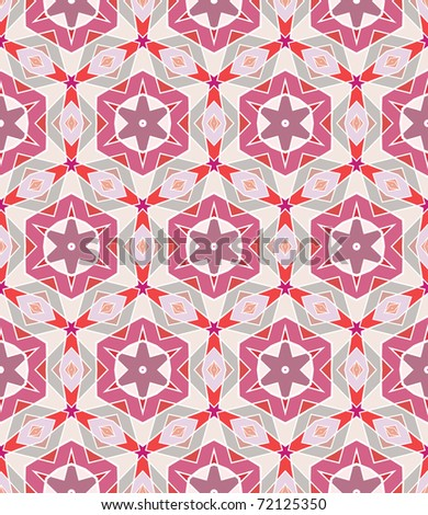 Seamless pink vector background. Collection of different backgrounds. - stock vector