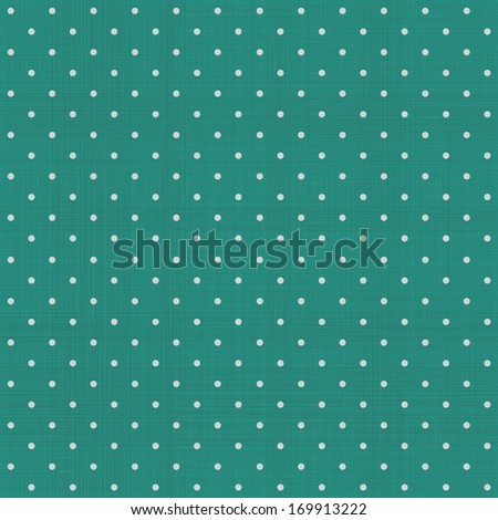 seamless polka dot pattern with retro texture - stock vector