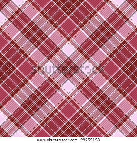 Seamless purple and white-pink cross checkered pattern with diagonal strips (vector EPS 10)