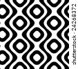 seamless retro pattern - stock