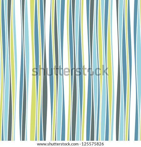 Seamless ripple pattern. Repeating vector texture in nuance colors. Cheerful background - stock vector