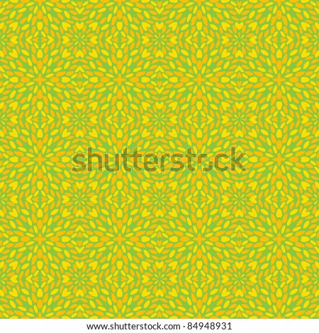 seamless spring color abstract pattern background - stock vector