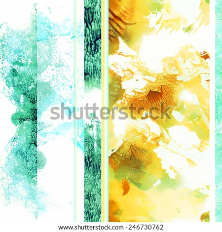 Seamless spring pattern with light floral elements for textile - stock vector
