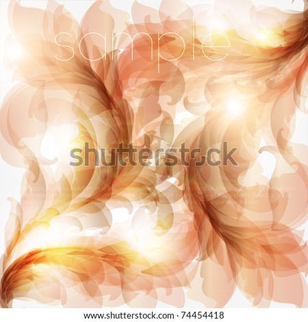 Seamless Spring Wallpaper, Vector Background for retro design. Eps 10 - stock vector