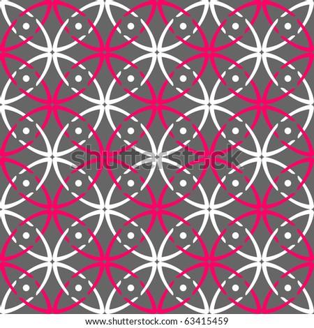 Seamless stylish pattern. Vector art. - stock vector