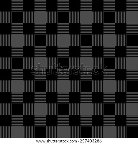 Seamless tablecloth pattern  - stock vector