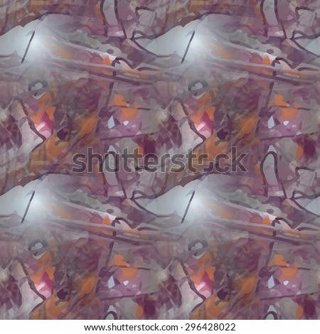 Seamless texture. Abstract painted background. Paint texture for design uses. A background for text, covers, websites and wrapping paper. Grungy graphic texture. - stock vector