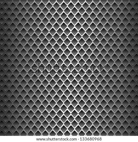 Seamless Texture Background Black Metal Surface Stock