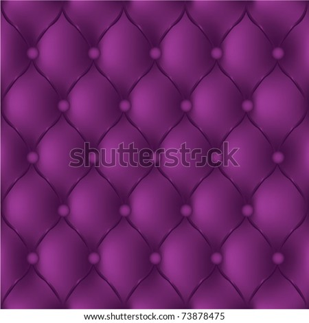 Seamless texture leather quilted a sofa. Vector, eps10