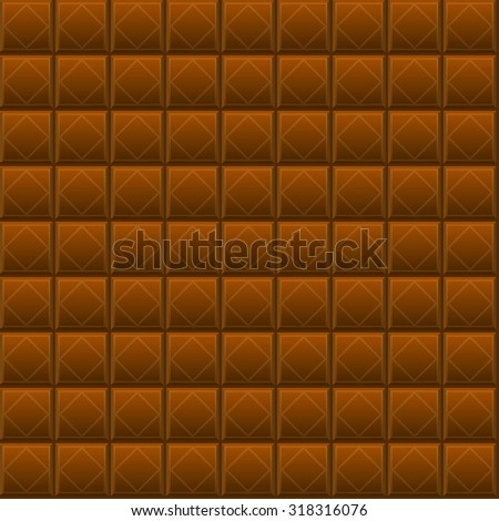 Seamless texture of chocolate bars