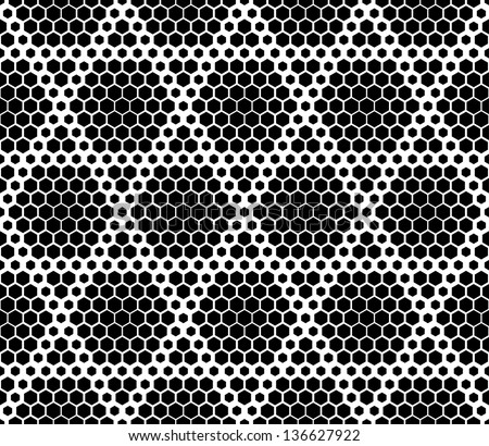 Seamless texture pattern of combs - stock vector